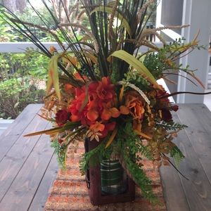 Large fall floral arrangement
